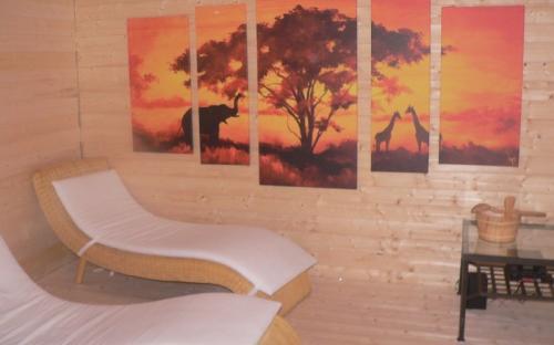 Relaxační odpočinková místnost