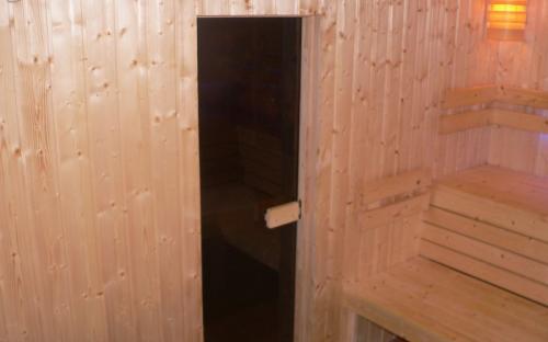 Celoskleněné saunové dveře